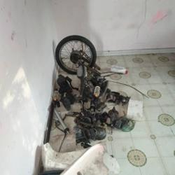 Melaka cops bust gang stealing motorbike parts