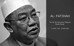 King, Queen convey condolences to Perak mufti's family