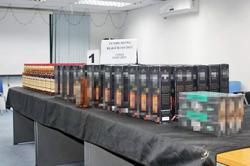 Brunei cops seize smuggled alcohol, raw meat in successful Op