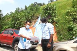 Hill slope mitigation work begins in Taman Bukit Kuchai
