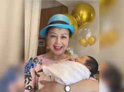 Hong Kong TVB actress Nancy Sit welcomes first grandchild