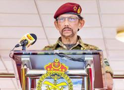 Sultan urges Royal Brunei Armed Forces to embrace technology