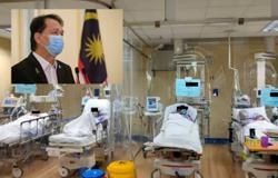 Covid-19: ICU cases hit all-time high of 872, says Health DG