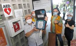 Lifesavers on Penang Hill