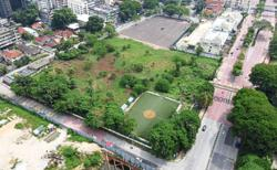 Residents fear designated football field in Brickfields being turned into carpark