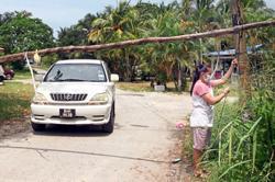 Orang Asli villages set up blockades