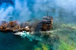 Sri Lanka braces for oil spill from sunken cargo ship