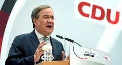 Laschet faces eastern test in bid to succeed Germany's Merkel