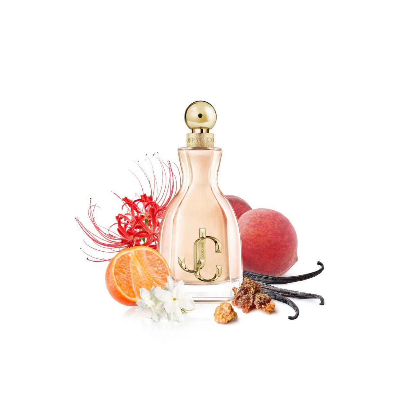 Jimmy Choo's new fragrance, I Want Choo. — Jimmy Choo
