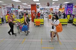 Penangites plan ahead to reduce shopping time