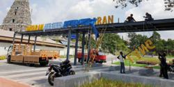 MPK takes down controversial sign at refurbished Padang Chetty site
