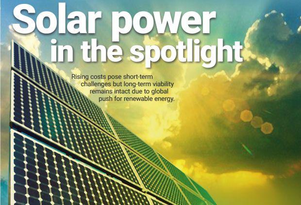 Solar power on the spotlight