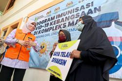 Rina: Drive-through vaccination centre for OKU to open soon