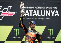 Motorcycling-KTM's Oliveira powers to victory in Barcelona thriller