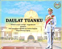 Selangor Sultan, Tengku Permaisuri convey birthday wishes to King