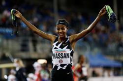 Athletics-Hassan smashes women's 10,000 metres world record - World Athletics