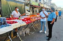 Only six morning markets allowed to open in Klang