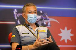 Motor racing-Pirelli suspects Baku blowouts could be due to debris
