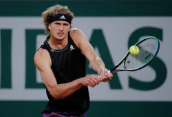 Tennis-Zverev crushes Nishikori to reach quarter-finals