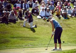Golf-Fan favorite Thompson say will learn from heartbreaking defeat