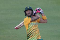 Cricket-Mushrooming T20 leagues a threat to international game - du Plessis
