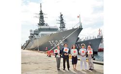 Japanese navy in Brunei for bilateral exchange