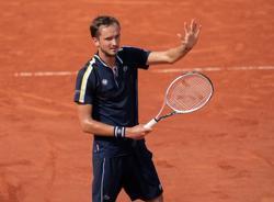 Tennis-Medvedev faces familiar foe Tsitsipas in French Open quarters