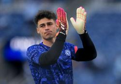 Soccer-Chelsea's Kepa added to Spain training squad amid COVID concerns