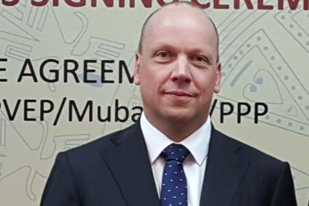 Yinson Group executive vice-president of new ventures and technology Eirik Barclay (pic) said the investment was in line with YGT's ambitions of accelerating the global transition to a low carbon economy through green technology investments.
