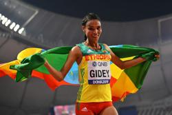 Athletics-Gidey breaks two-day-old 10,000m world record