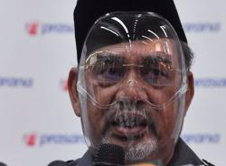 Tajuddin to be issued RM1,500 compound notice for not wearing face mask at press conference