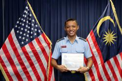 Malaysian cadets Khairel and Nicholas off for further studies at prestigious US military academies