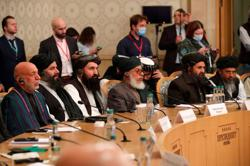 Afghan government and Taliban negotiators meet in Doha to discuss peace
