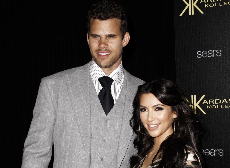 Kim Kardashian was briefly married to basketball player Kris Humphries. Photo: AP