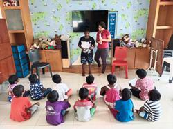 Children's centre seeking funding and food items