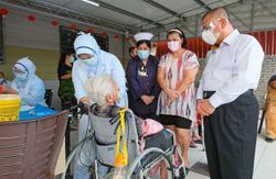 Elderly folk get their jabs in Perak and Penang