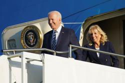 British PM hails Biden as 'a big breath of fresh air'