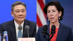 China, US commerce ministers talk about pragmatic cooperation