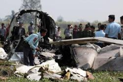 Military plane crashes near Myanmar's Mandalay, killing 12