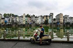 'Tube houses' dominate Hanoi's streets
