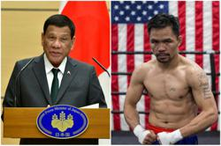 Philippine president spars with Pacquiao over South China Sea