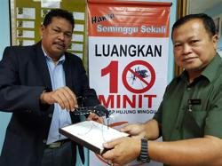 Klang local council urges public to guard against Aedes mosquitoes after dengue outbreak