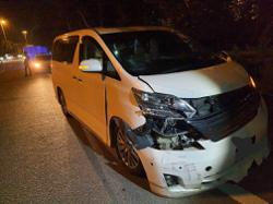Man arrested for driving under the influence rams into roadblock in Penang