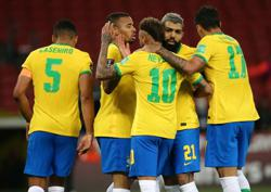 Soccer-Brazil seek to forget troubles, focus on a Copa America like no other