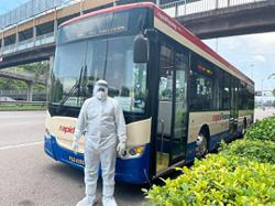 State sponsors three Rapid Penang buses to ferry Covid-19 patients