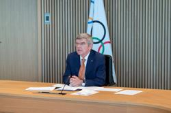 Olympics-IOC's Bach scraps plans for quick visit, will be in Tokyo in mid-July
