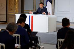 France and its partners work on financing mechanism for Lebanon - Macron