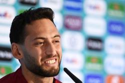 Soccer-Turkey's Calhanoglu hopes to meet Italy again in Euro 2020 final