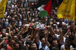 Israeli forces kill Palestinian fighter, two security officers in West Bank clash