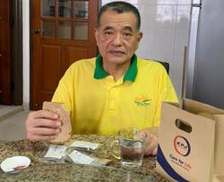 Penang Port chairman Tan resting at home after accident on NSE, says only suffered minor scratches